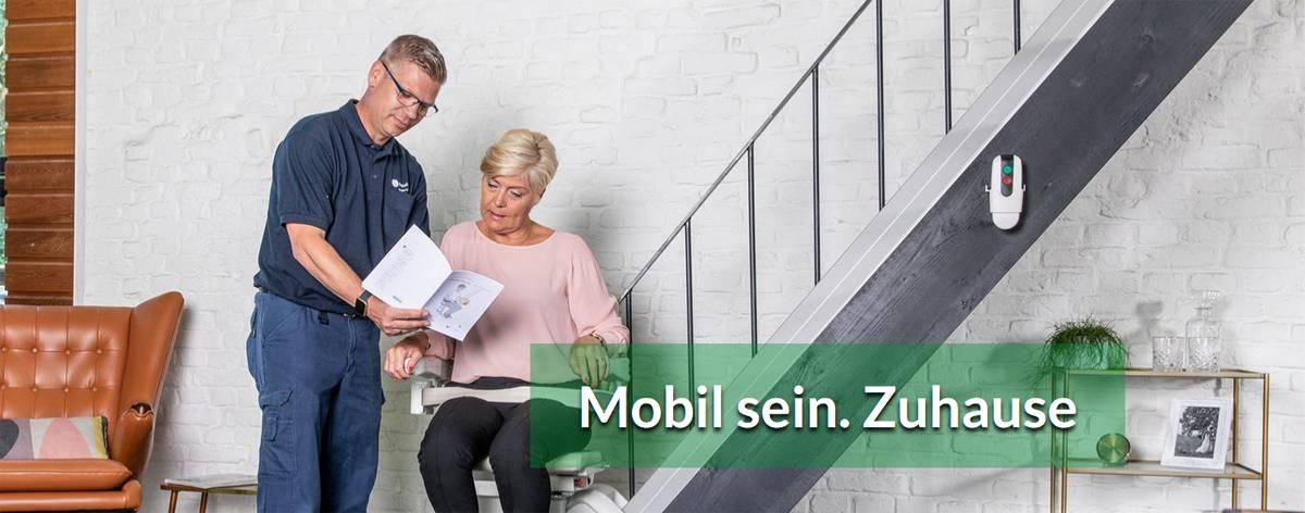 Treppenlifte Gräfenroda: Sitzlifte, Seniorenlift, Treppenschrägaufzüge